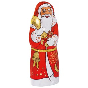 Lindt Papá Noel Chocolate con Leche 125g