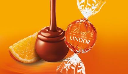 Lindor Chocolate con leche y Naranja