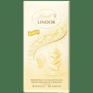 Lindor Blanco Singles 100g