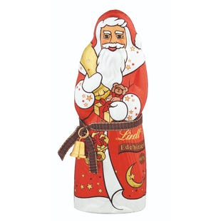 Lindt Papá Noel Chocolate Negro 125g