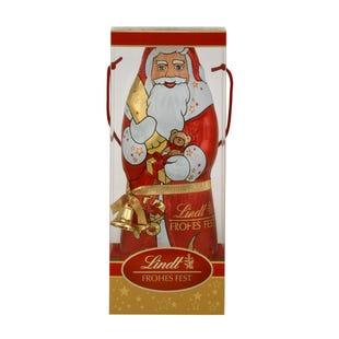 Lindt Papá Noel Chocolate con Leche 1Kg